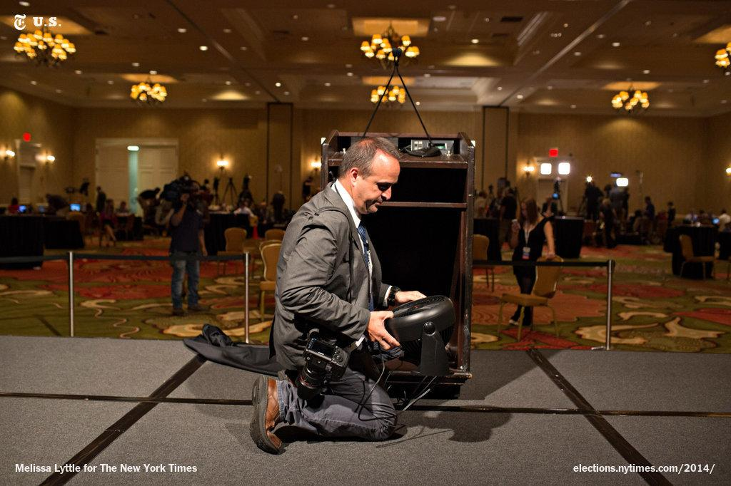 Best pic of night RT @nytpolitics: Photo: In Florida, they put away Charlie Crist's fan after his concession speech http://t.co/9bIZsTgNdM