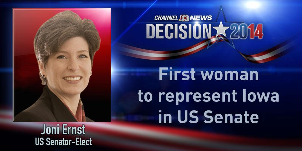 That would be 6. RT @WHOhd: Channel 13 projects @joniernst has won the US Senate race  http://t.co/2UMc9y1ZbK #iasen http://t.co/aViWxlssFq