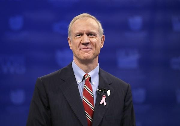 BREAKING: Bruce Rauner wins Illinois governor's race http://t.co/Xg5UNPx619 #illinoiselection #Election2014 http://t.co/rHlEUVPvzo