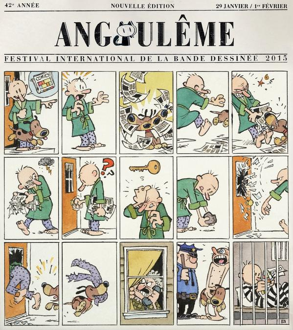 Ha. about right. RT @tomfowlerbug: bill watterson's angouleme poster. i needed this this morning.  http://t.co/EVfnsn9udu