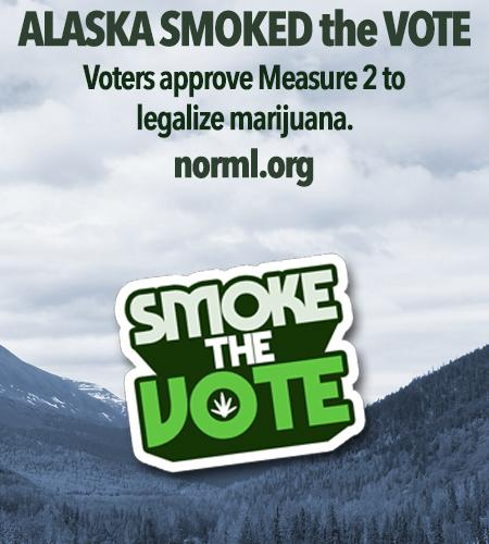 ALASKA BECOMES THE FOURTH STATE TO LEGALIZE MARIJUANA. #SmokedTheVote http://t.co/4S41Tkscgu