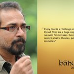 RT @BaahubaliMovie: Our Production Designer Sabu Cyril about #Baahubali http://t.co/3UNwrN7RPH