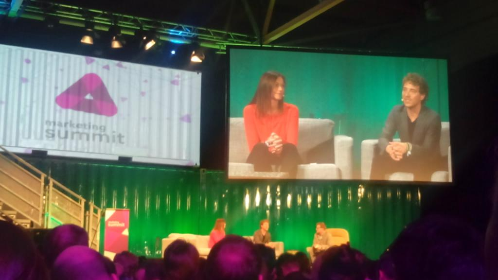 'Native advertising is the ability to integrate into a user's experience in a relevant way.' #websummit http://t.co/p4MaaqQoiJ