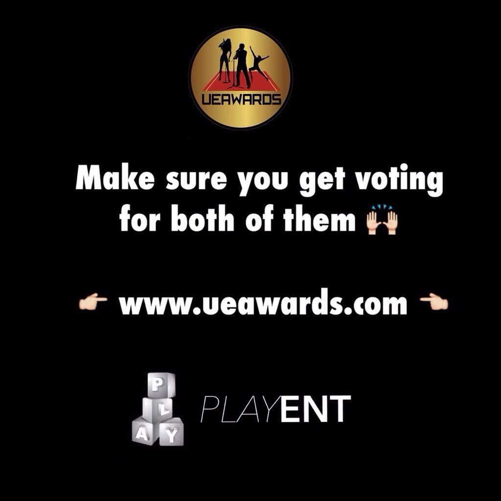 Getting voting for @mrplay nominated for Best International Male DJ & @jaylobez Best Presenter/Host @ the @ueawards http://t.co/DN8YjUk1rd