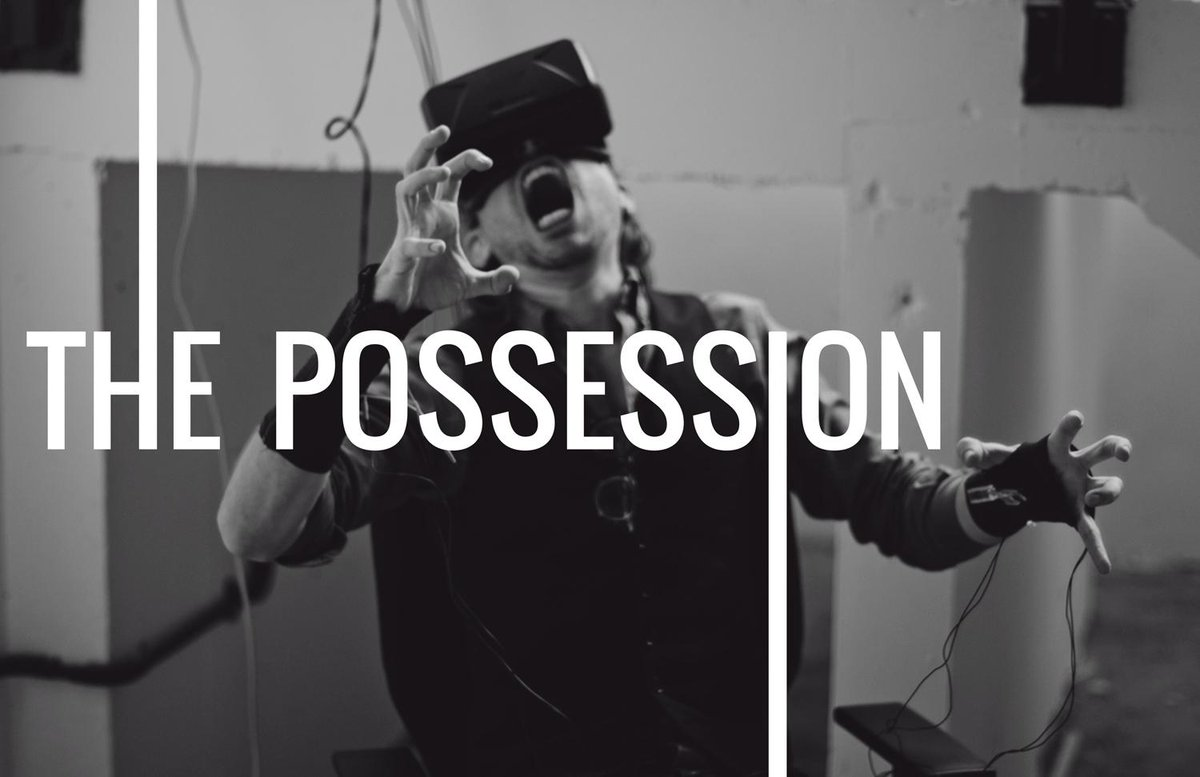 From UNIT9 comes THE POSSESSION, the only #oculus horror game in the world with the power to ACTUALLY CONTROL YOU http://t.co/QVjVUtjCE3
