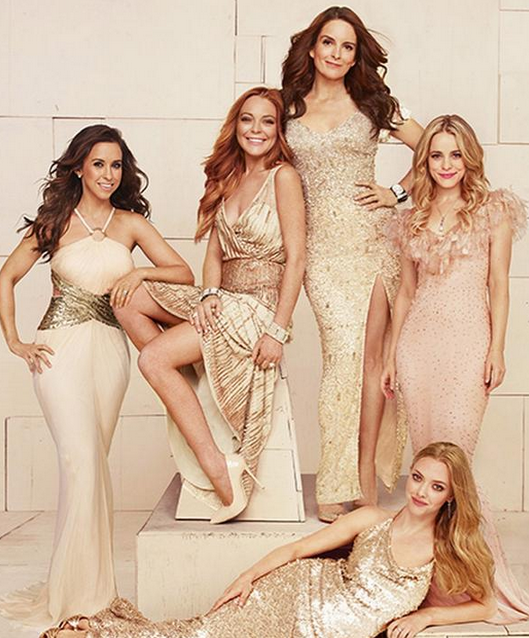 Mandatory Mean Girls reunion freak out. This is amazing, @EW. http://t.co/QLmqawcLLU http://t.co/qGRkkXyDT3