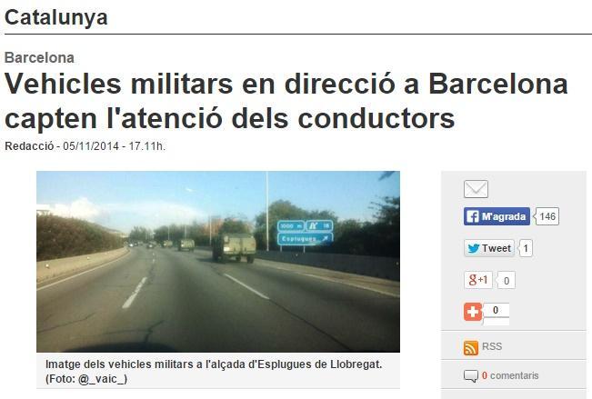 Molt bé la notícia dels tancs. Periodisme de primer nivell als mitjans públics. Lo típic d'un país normal, suposo. http://t.co/TnN5WySBjS