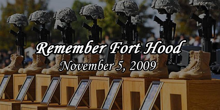 Today marks five years since the tragedy at Fort Hood. Please keep all those affected in your thoughts & prayers. http://t.co/7nFipUlqIl