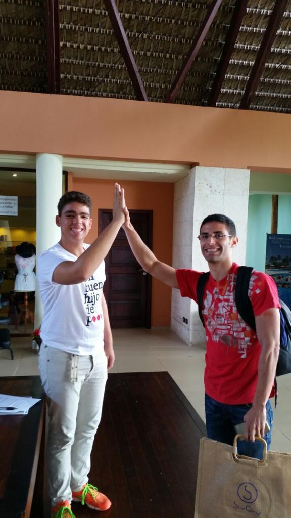 José es nuestro primer invitado panameño de #encuerpoyalma2014. c/ @CALACNN Felices de recibirlo en @SivoryPuntaCana http://t.co/OJ0S9Hg1aJ