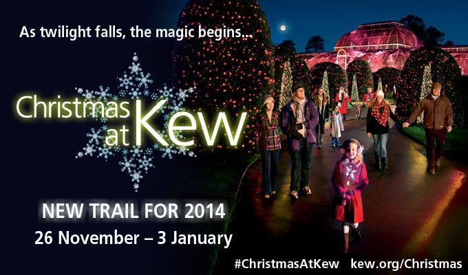 Seasonal illuminations light up Kew after dark #ChristmasAtKew. Follow & RT to win tickets http://t.co/eM8IpnHPbg http://t.co/M6RIi8PnZe