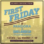 RT @0aklandish: .@pandora_radio x Oaklandish collab tee launch this First Friday. Proceeds support Futures music program in East O http://t…