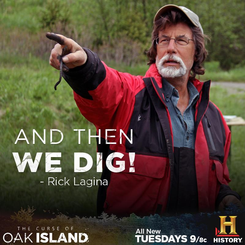 The dig for secrets continues! Watch #OakIsland On Demand or on the HISTORY app: http://t.co/ODRKgz18gt http://t.co/vVyKgr1MGT