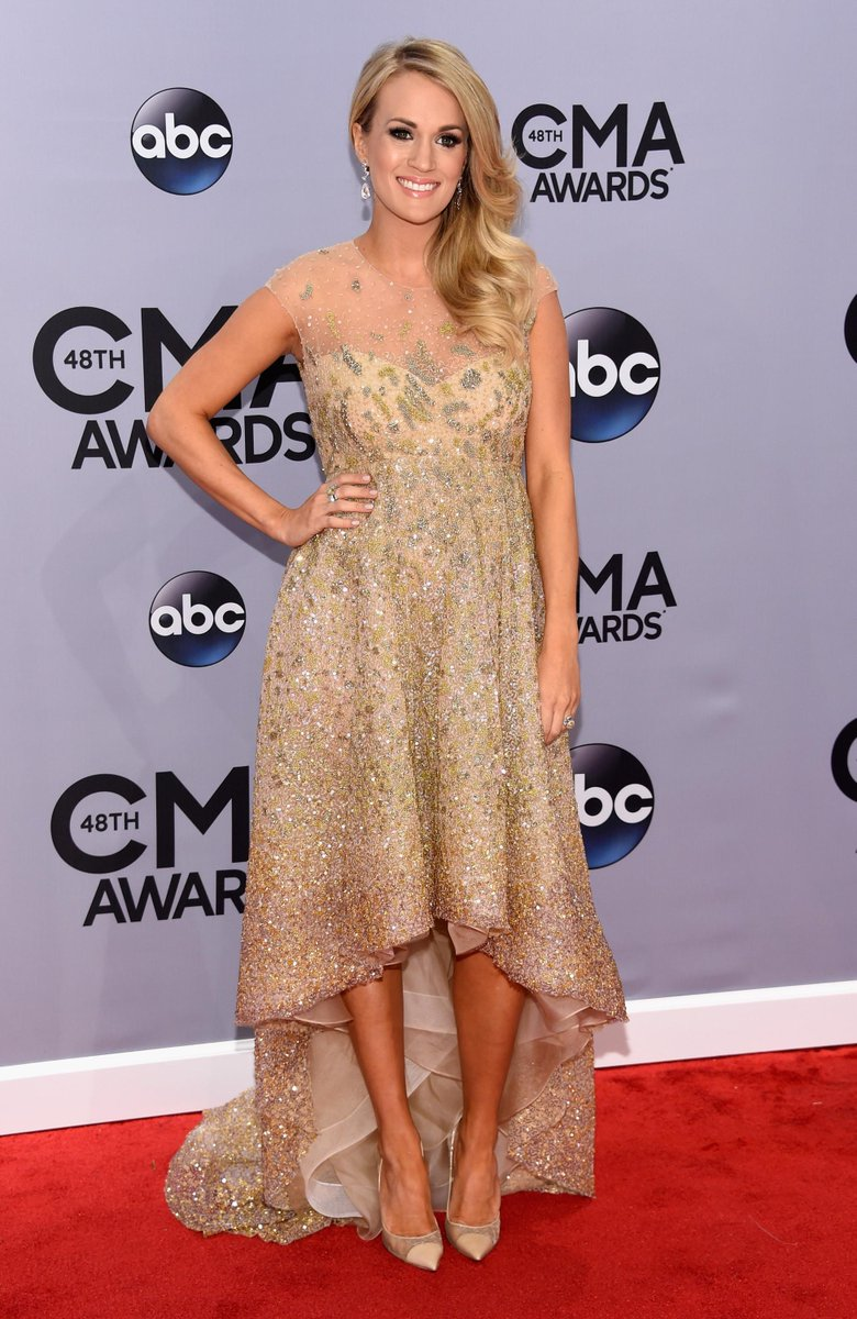 #CMAawards @CarrieUnderwood no Red Carpet! RT @JasontheScott Ladies and gents, here is…http://t.co/nmaZMdSSaI #SomethingInTheWater #GHX1