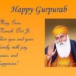 Guru Nanak Dev Ji de prakash utsav diyaan sab nu badhaaiyaan!