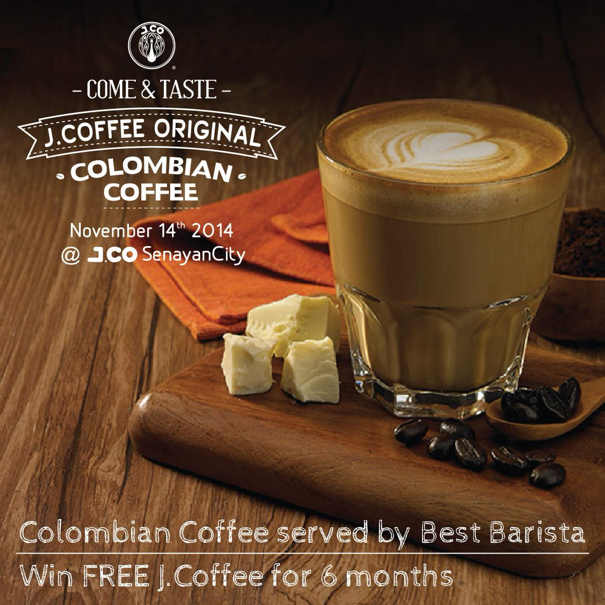 RETWEET this post and have a chance to win FREE http://t.co/44hBNcXTsM for 6 months! #JCoffee http://t.co/SDMkDoiatL