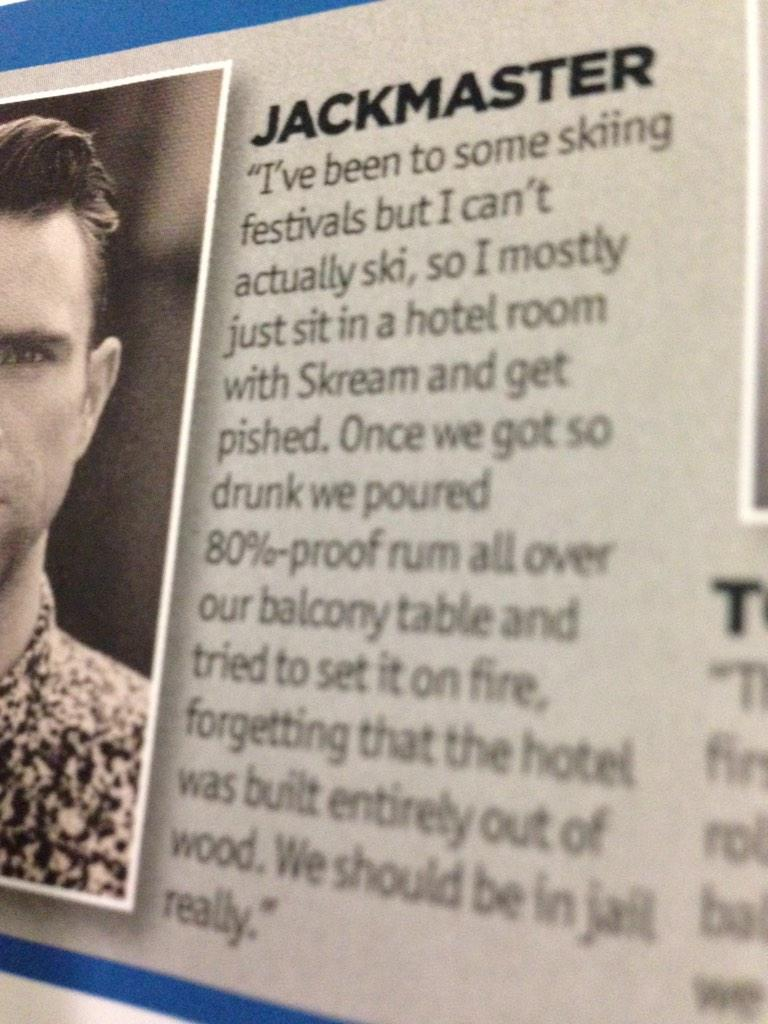 Good old @jackmaster http://t.co/m3l5B0TR07