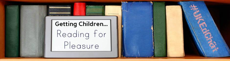 40 books recommended by #ukedchat Teachers that encourage children to read for pleasure http://t.co/TZrWNYJKyq http://t.co/jNDNfFIRYV