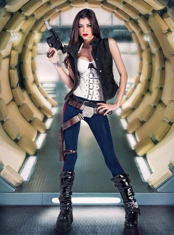 How hot is @Vamp as Han Solo in our new @StarWars parody music video??!! Answer: the hottest. http://t.co/hckPc0lafy http://t.co/ZfIktInrEG