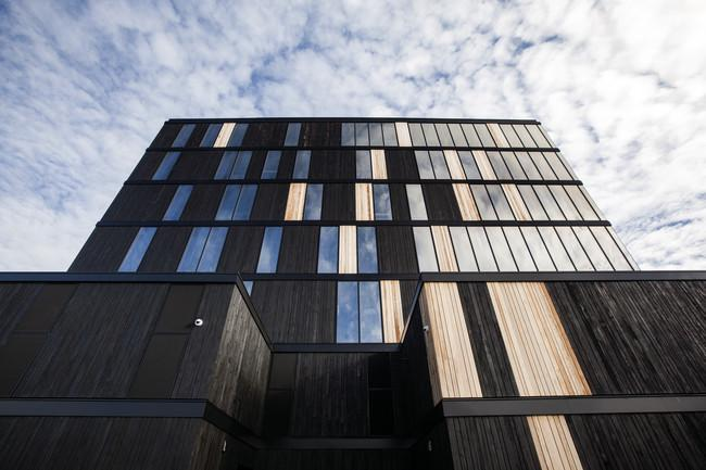 The world's tallest contemporary wood structure opens in Canada. http://t.co/6Ioe7t7Wkx http://t.co/doHDxwoidy