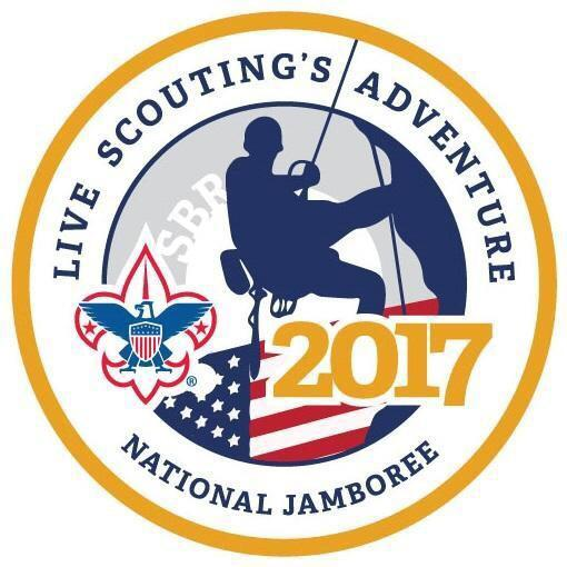 """Unveiling the logo and theme of the 2017 Boy Scouts of America National Jamboree! """"Live Scouting's Adventure."""" http://t.co/Q2LwK3wSrn"""