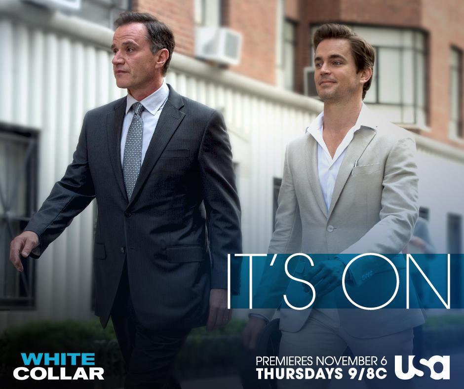 The con is on.  White Collar. The Final Season. Premieres TONIGHT at 9/8c on USA. http://t.co/Qqj0DrFF3P