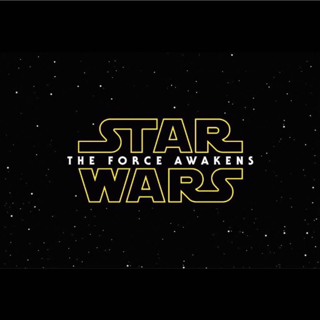 We have a TITLE! RT @starwars SW The Force Awakens has completed principal photography #StarWarsVII #TheForceAwakens http://t.co/3aBodcuSuN