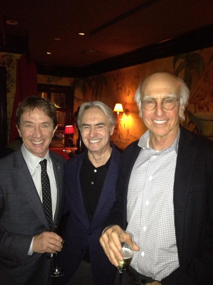 """3 Amigos celebrating #MartinShort 's new book """"I Must Say"""" http://t.co/lIOwTmAd10"""