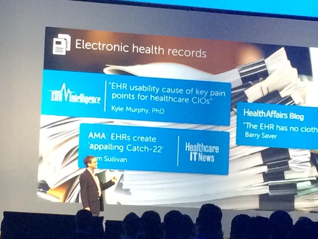 Dr. Howard Levy of Johns Hopkins discussing their clinical #bigdata project supported by IT and Dell #dellworld http://t.co/QZltBjpZfn