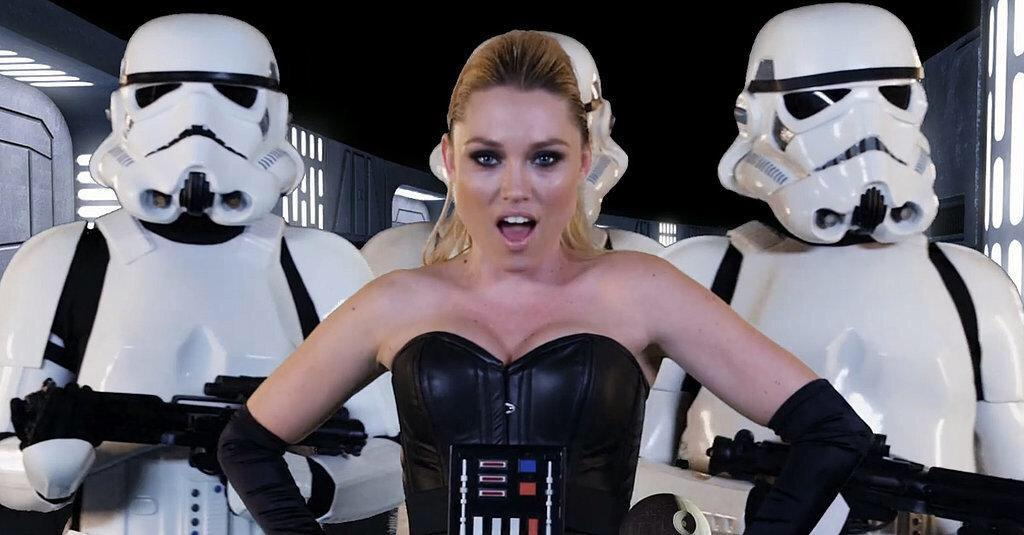 Our new #StarWars parody video has over half a million views under 24 hours!! Thanks, guys!! http://t.co/vdaOmKPzyV http://t.co/S6ldu7e9ip