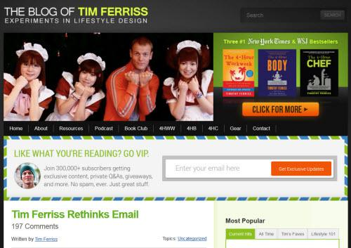 [Case Study] #ContentMarketing: How @tferriss turned his blog into a successful email program http://t.co/wPO6Yu8Ybl http://t.co/cqAkMdH6aM