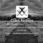 UN GRAN FAVOR si hacen follow de @CubaArchivo donde publico mas de 3mil víctimas del #Castro #Comunismo #Cuba http://t.co/R8p4xFL6d3