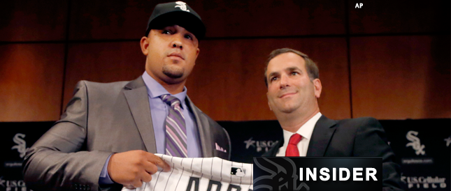 'Tremendous moves' have @WhiteSox GM Rick Hahn up for Exec. of the Year http://t.co/TXZrz011WT (@CSNHayes) http://t.co/1zh8XWTy1p