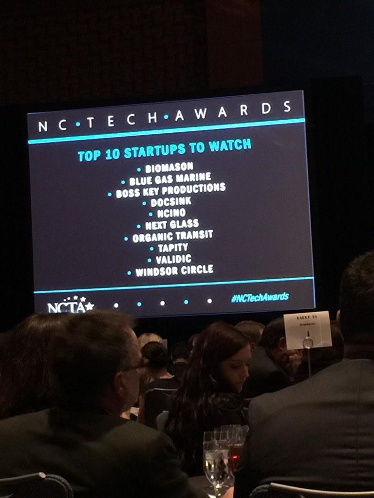 "Congrats to @nextglass for ""Top 10 Startups to watch"" from #NCTechAwards (cc @tekMountain ) #welldeserved #RDU http://t.co/iUZAm6BOLm"