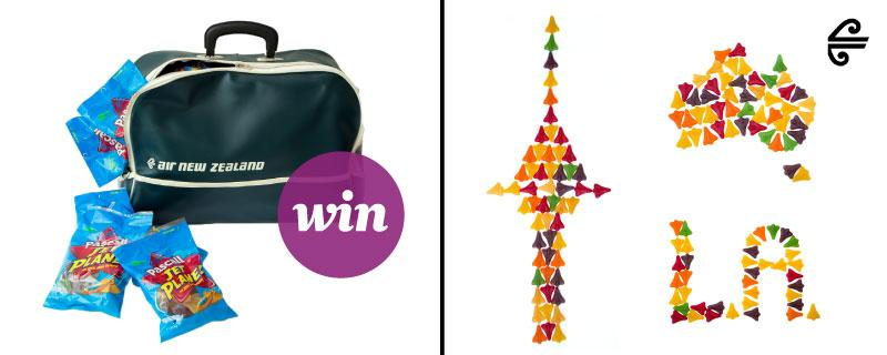 Show us your dream destination to win a retro bag filled with Jet Planes!