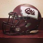 #SneakPeek: The helmets #GrizFootball will be wearing for #GrizCat. #WeAreMT http://t.co/yktCK092i2