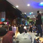 Et voilà on est partis pour 54h de startup weekend #swtln ! http://t.co/p7J0zVY3Px