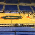 Shoot around @ the ODome in Gainesville. Play @ 8ET on SEC Network #Warhawks http://t.co/nSxbm0aMXj