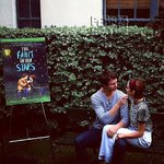 .@shailenewoodley and @AnselElgort have an incredibly sweet #FaultInOurStars reunion! http://t.co/rWhYkYmBKR