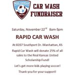 Support the RKU Car Wash Fundraiser - November 22nd at Rapid Car Wash - 8207 Southport Dr. in Manhattan. 8am to 5pm. http://t.co/KQkwu0Sz8Y