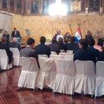Interviene Presidente @MashiRafael en el marco de la #VisitaOficial de su homólogo de #Paraguay @Horacio_Cartes http://t.co/a5Q0ZcTWnN