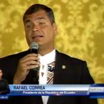 AHORA @MashiRafael por canal 7. Visita del Presidente de Paraguay. http://t.co/ha8BcMhSEE