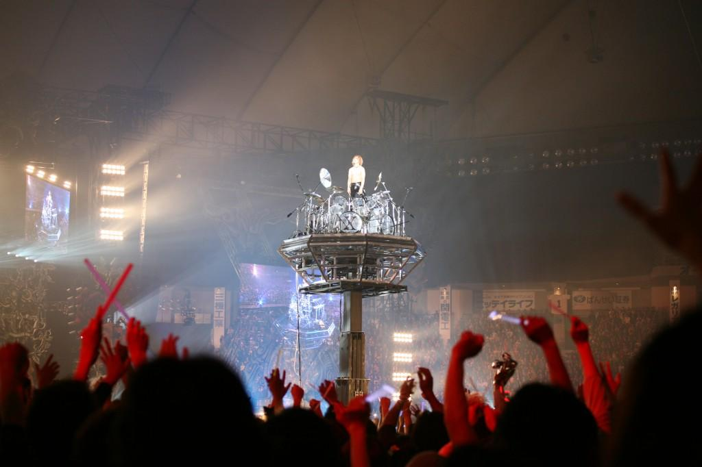 Drummer Blog: X Japan's Yoshiki on His Evolving Setup http://t.co/2AqBsNwtuN http://t.co/ic0N4liklt
