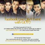 내일저녁 7시, GOT7 Official Facebook에 GOT7이 옵니다! Tomorrow at 7:00PM(KST), #GOT7 will visit GOT7 Official Facebook!  #하지하지마 http://t.co/HsN2oQyjd8