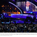 Latin Grammys Wait for Obama, Then Quickly Move On http://t.co/plmkKWJbwu #AccionEjecutiva #LatinGRAMMY #immigration http://t.co/I18qvghvMT