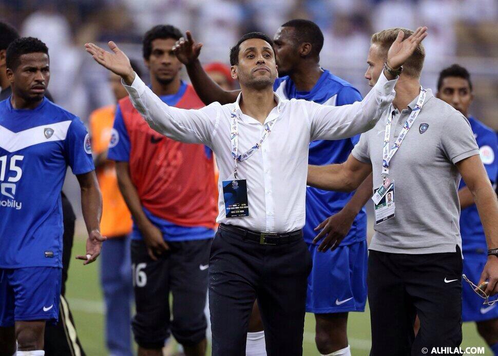 وليد_الفراج# (@waleedalfarraj): #الجابر_في_نادي_مشاهير_آسيا : انجاز جديد بأسم كرة القدم السعودية ونجومها .. مبروك لسامي الجابر ولكل محبيه ، تستاهل . http://t.co/oSSDjPnzwo