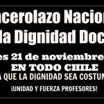 [Hoy, 21 hrs en Plaza Independencia de Concepción] #ParoDocente Profesores convocan a Cacerolazo Nacional http://t.co/TXURLmvjUF
