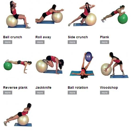 ¡Mira todos los ejercicios que puedes hacer con un fitball! Varía tu entrenamiento http://t.co/xfwQBb4gqs