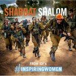 #GenderEquality means men & women carry the stretcher together. Shabbat Shalom from the #InspiringWomen of the IDF! http://t.co/AGTnvPJj13