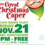@lccradio LIVE Radio Play after @SilverBellsLans! Cast from @991WFMK @WLNS @wilxTV @941WVIC @WITLFM @975NOW! http://t.co/soP46wG6TX