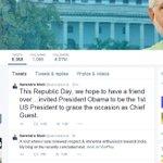 PM Narendra Modi invites US President Barack Obama to grace the occasion of Republic Day as Chief Guest #Tv9Breaking http://t.co/xmV1BB8vvz